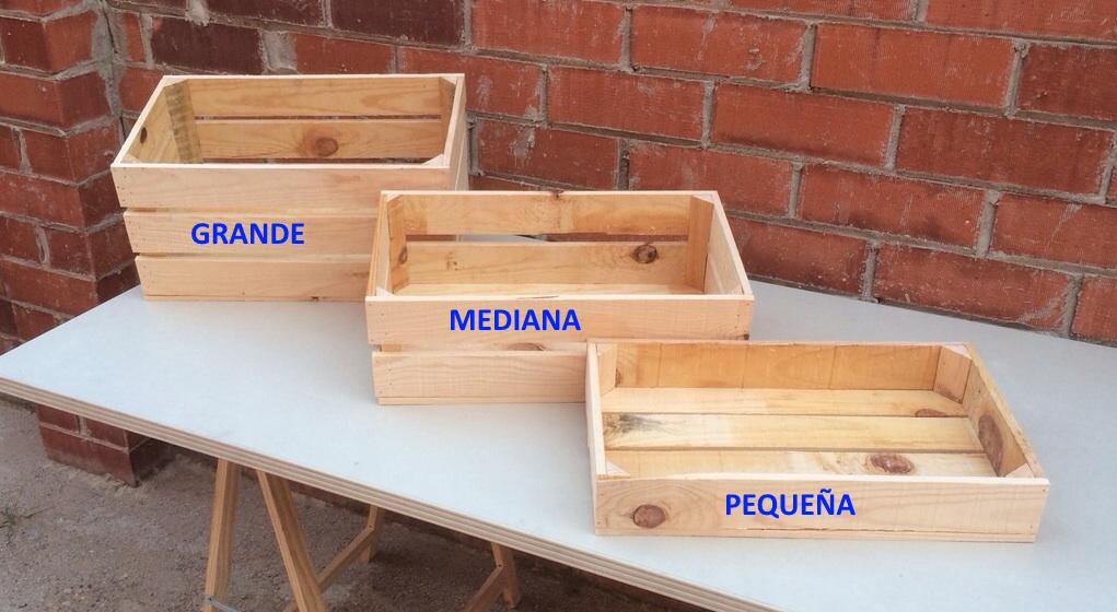 caja madera estilo vintage grande