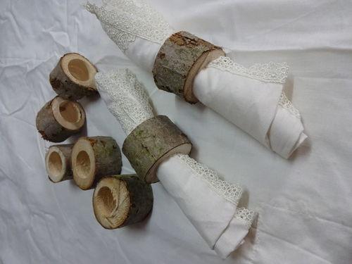 aro para servilletas tronco