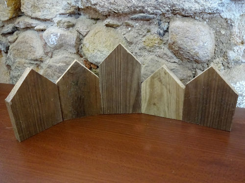 CASITA DE MADERA DIY PACK 3